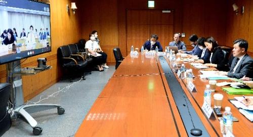 韓中司局級海域劃界談判線上舉行