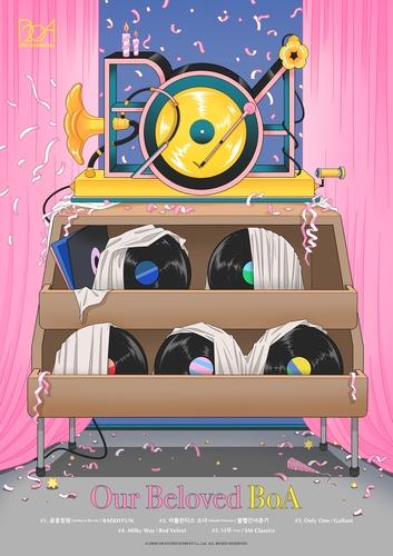 一週韓娛:防彈定期雜誌在意首發 歌星翻唱紀念寶兒出道20年