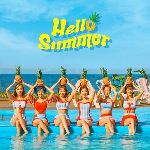 April夏季特輯《Hello Summer》 韓聯社/DSP Media供圖(圖片嚴禁轉載複製)