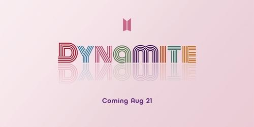 防彈少年團英文新歌定名《Dynamite》