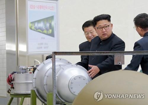 南韓防部:朝鮮核武小型化達到相當水準