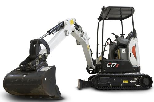 韓企鬥山山貓將在華生產小型挖掘機