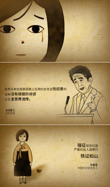 韓批日否認強徵性奴視頻中文版上線
