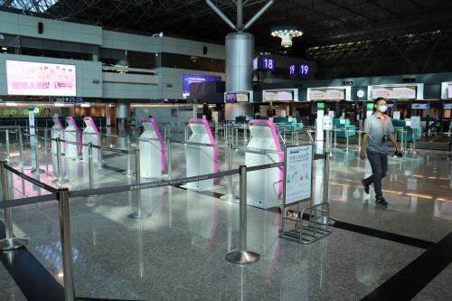資料圖片:台北桃園機場