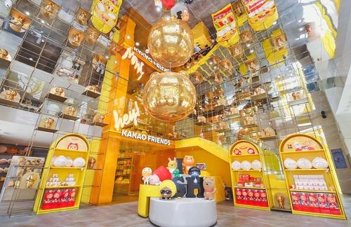 韓卡通品牌Kakao Friends登陸上海