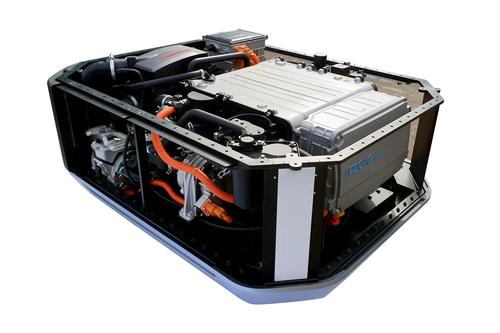 現代汽車首次出口氫燃料電池