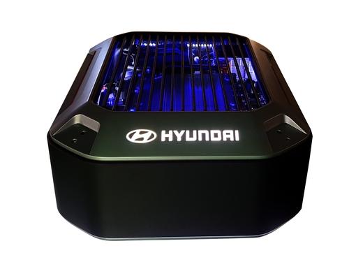 資料圖片:現代汽車氫燃料電池 現代汽車供圖(圖片嚴禁轉載複製)