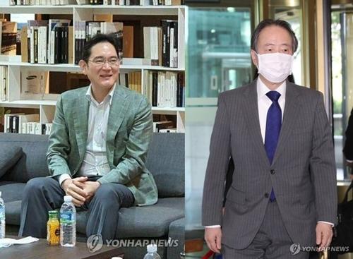 消息:三星掌門會見日駐韓大使討論商務入境
