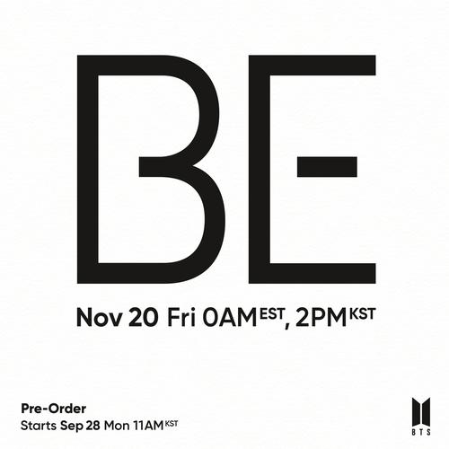 防彈少年團11月20日將發佈親自操刀新輯