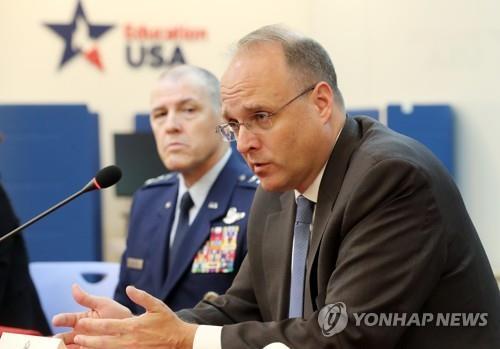 美軍控特使:與韓方分享中國導彈情報