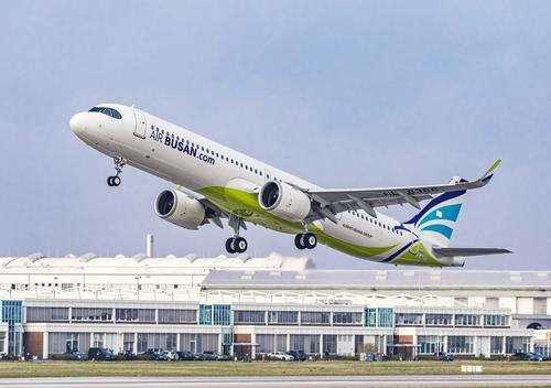 韓釜山航空下月重啟釜山至青島航線