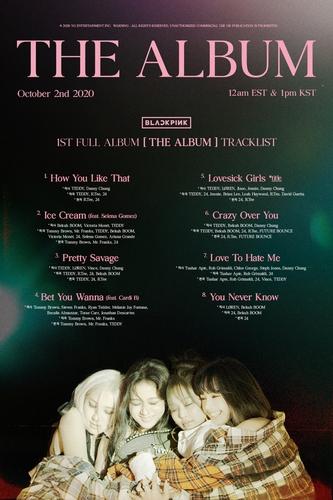 卡迪·B為BLACKPINK新輯收錄曲伴唱