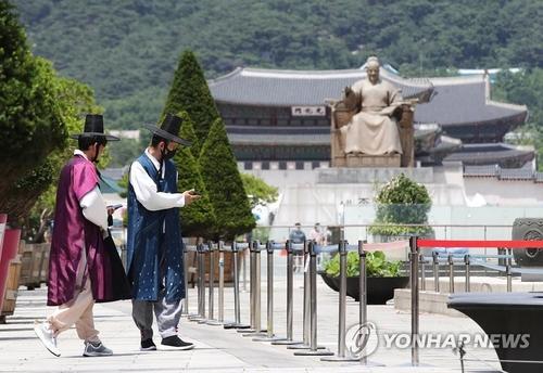 今年上半年訪韓外國遊客同比減75%