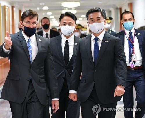 南韓防部:韓美防長記者會被取消非因分歧