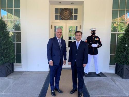 詳訊:南韓國安首長徐薰會晤美國國安助理奧布萊恩