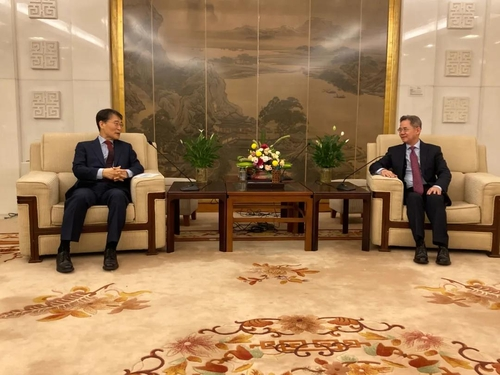 韓駐華大使張夏成會晤中國外交部副部長鄭澤光
