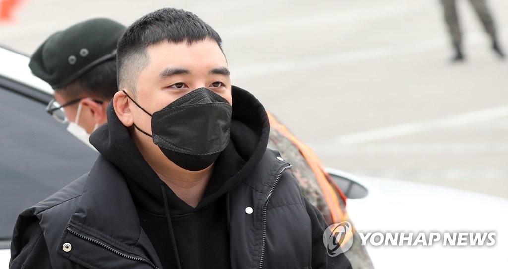資料圖片:BIGBANG前成員勝利 韓聯社