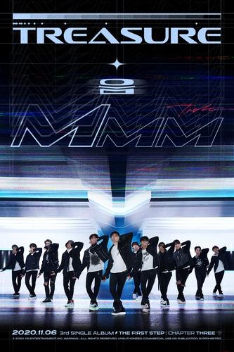 男團TREASURE將於下月發佈第三張單曲輯