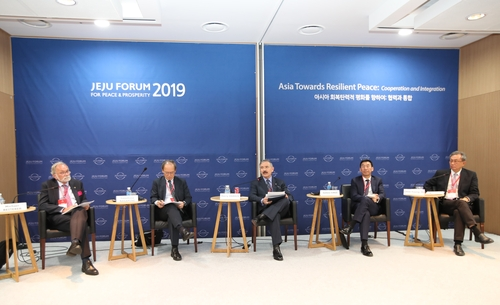 中日等9國駐韓大使將出席濟州論壇討論會