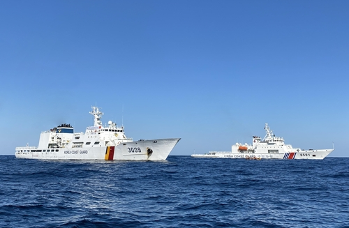 韓中海警在暫定措施水域展開聯合巡邏