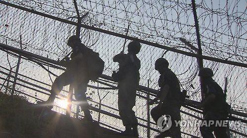 韓軍檢查組赴江原道調查朝居民越境事件