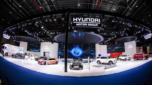 現代汽車參加中國進博會加快佈局綠色汽車市場
