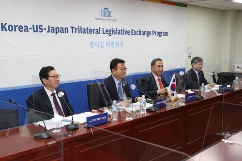 韓美日議員線上開會討論美國大選影響