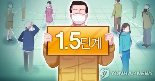 詳訊:韓首都圈防疫響應級別19日起升至1.5級