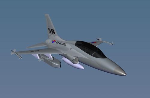 FA-50搭載金牛座350K-2的模擬圖 金牛座系統公司供圖(圖片嚴禁轉載複製)