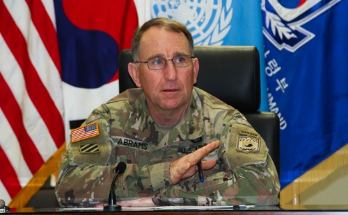 駐韓美軍司令:2022年移交戰權為時尚早