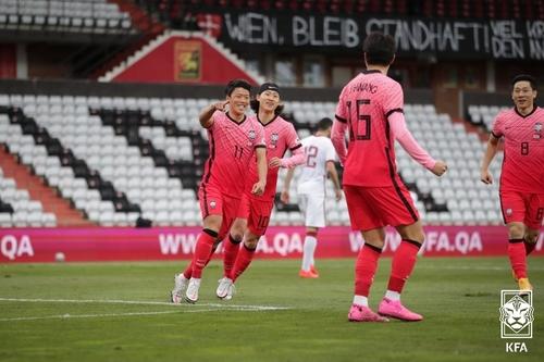 南韓國足最新FIFA排名維持第38位