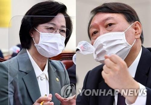 韓法院審理檢察總長申請停止執行停職命令案