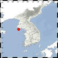 朝鮮甕津郡西南海域發生2.3級地震