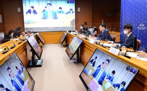 韓中副外長舉行視頻會談