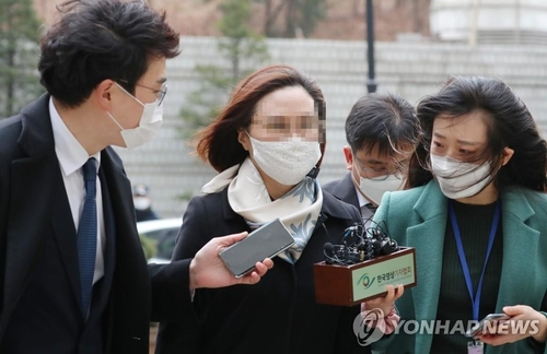韓前法務部長曹國之妻一審獲刑4年