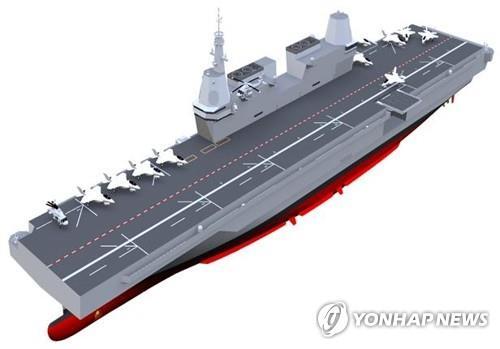 南韓明年起推進輕型航母研發計劃