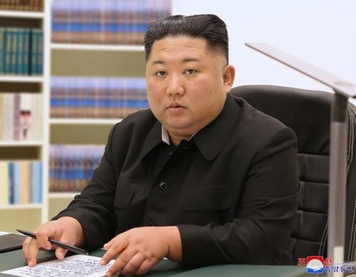 資料圖片:朝鮮國務委員會委員長金正恩 韓聯社/朝中社(圖片僅限南韓國內使用,嚴禁轉載複製)