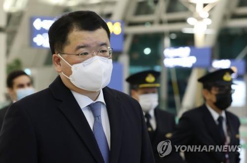 資料圖片:南韓外交部第一次官崔鐘建 韓聯社