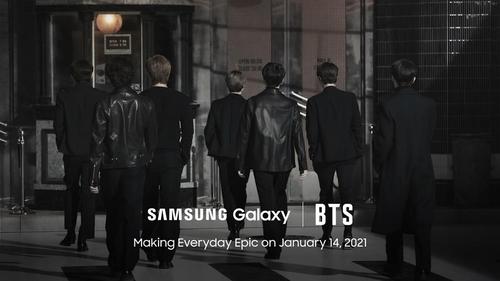 防彈少年團將亮相Galaxy S21發佈會