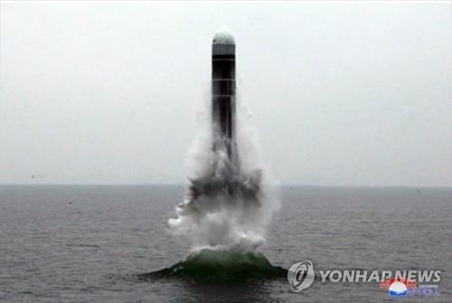 韓自主研發潛射彈道導彈有望年內水下試射