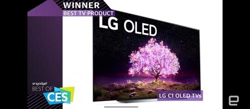 LG電子獲CES最佳電視和手機獎