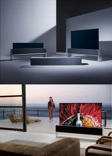 LG Signature OLED TV R LG電子美國法人供圖(圖片嚴禁轉載複製)