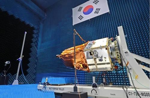 新一代中型衛星1號 韓聯社/南韓科學技術資訊通信部供圖(圖片嚴禁轉載複製)