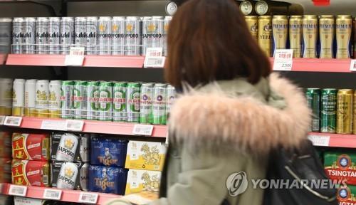 統計:韓去年日本啤酒進口額同比降86%