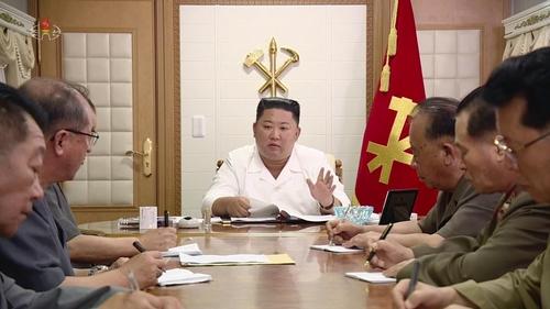 朝鮮播紀錄片頌揚金正恩抗疫抗災功績