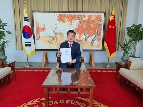 韓民間團體攜手中企在華促銷南韓商品