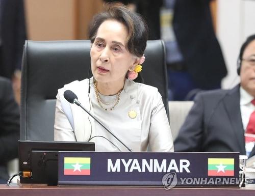 韓政府敦促緬甸軍方釋放國務資政昂山素季