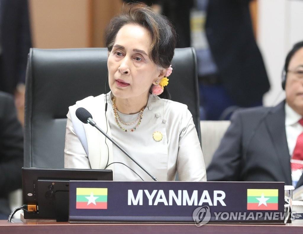 詳訊:韓政府敦促緬軍釋放國務資政昂山素季