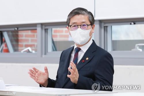 資料圖片:南韓國土交通部長官卞彰欽 韓聯社