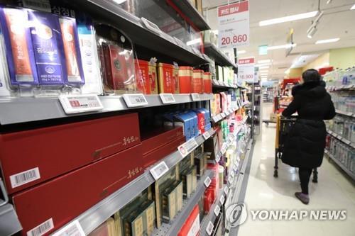 統計:韓近三年營養保健品進口年均增21%